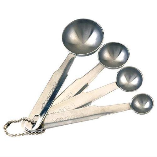 CRESTWARE MEASPHD Measuring Spoon Set, HD, Stainless Steel