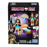 mega construx monster high cleo's gore-geous vanity playset