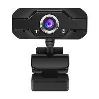 HD Webcam Desktop Laptop USB Web Camera 720P Web Cam CMOS Sensor with Built-in Microphone for Video Calling