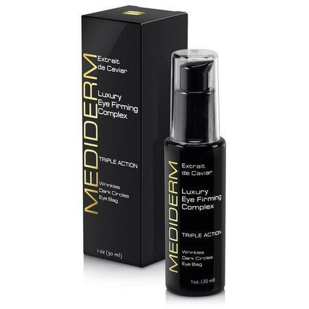 MediDerm Best Under Eye Firming, Anti-Wrinkle Serum Complex, 3 Action Luxury