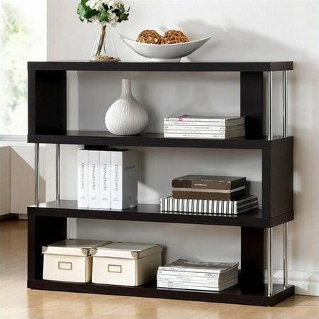 Scranton & CO 3 Shelf Bookcase in Dark Brown - image 1 of 2