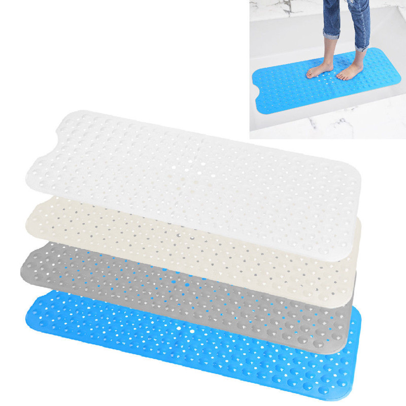 Yosoo Bath Mat Non Slip Anti Skid Rubber Shower Tub Safe Protection Bathtub Safety Mat