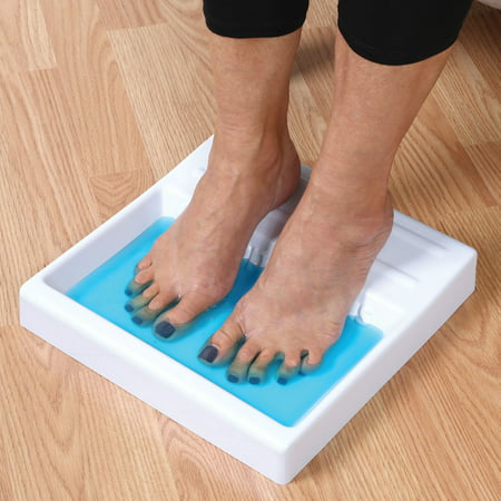 Toe and Nail Antifungal Shallow Foot Soaking Tray with 2 oz. Funga Soap