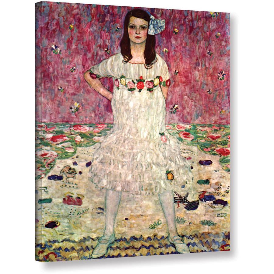 "Gustav Klimt ""Eugenia Primavesi"" Gallery-Wrapped Canvas"