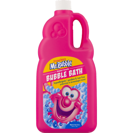 - (2 pack) Mr. Bubble Original Bubble Bath, Classic Bubble Gum Scent, 36 Oz
