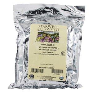 Starwest Botanicals - Bulk Kelp Powder Organic - 1 lb.
