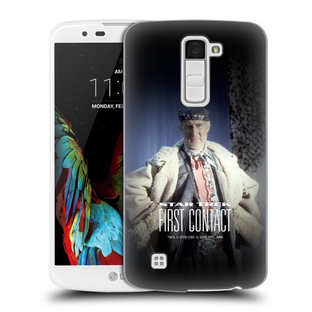 OFFICIAL STAR TREK ZEFRAM COCHRANE FIRST CONTACT TNG HARD BACK CASE FOR LG PHONES 3](Costume Contact)