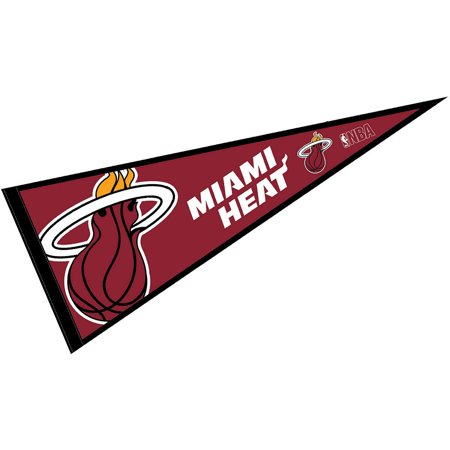 NBA Miami Heat Full Size Pennant - Miami Heat Decorations