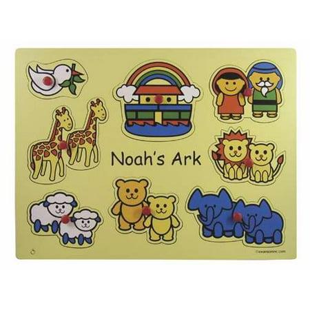 Puzzle-Noah s Ark Animals/Wooden