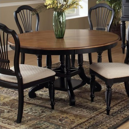 Oval Round Table - Hillsdale Furniture Wilshire Round/Oval Dining Table