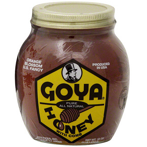 Goya Honey With Comb, 16 oz (Pack of 12)