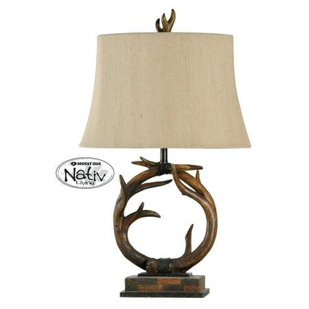Dark Brown Table Lamp (30