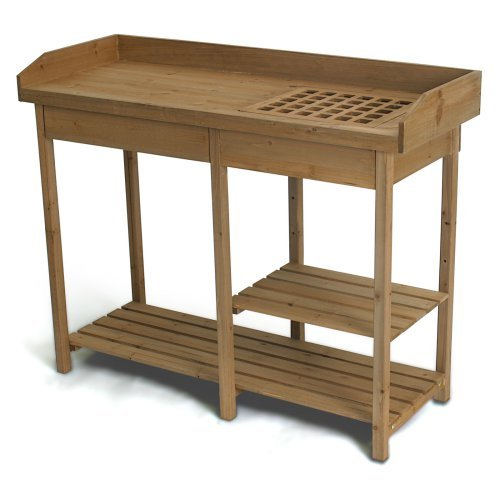 Algreen potting bench table walmart com