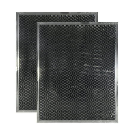 2 PACK WB02X10707 GE Range Hood Charcoal Carbon Filter Replacements by Air Fi... Carbon Range Hood Filter