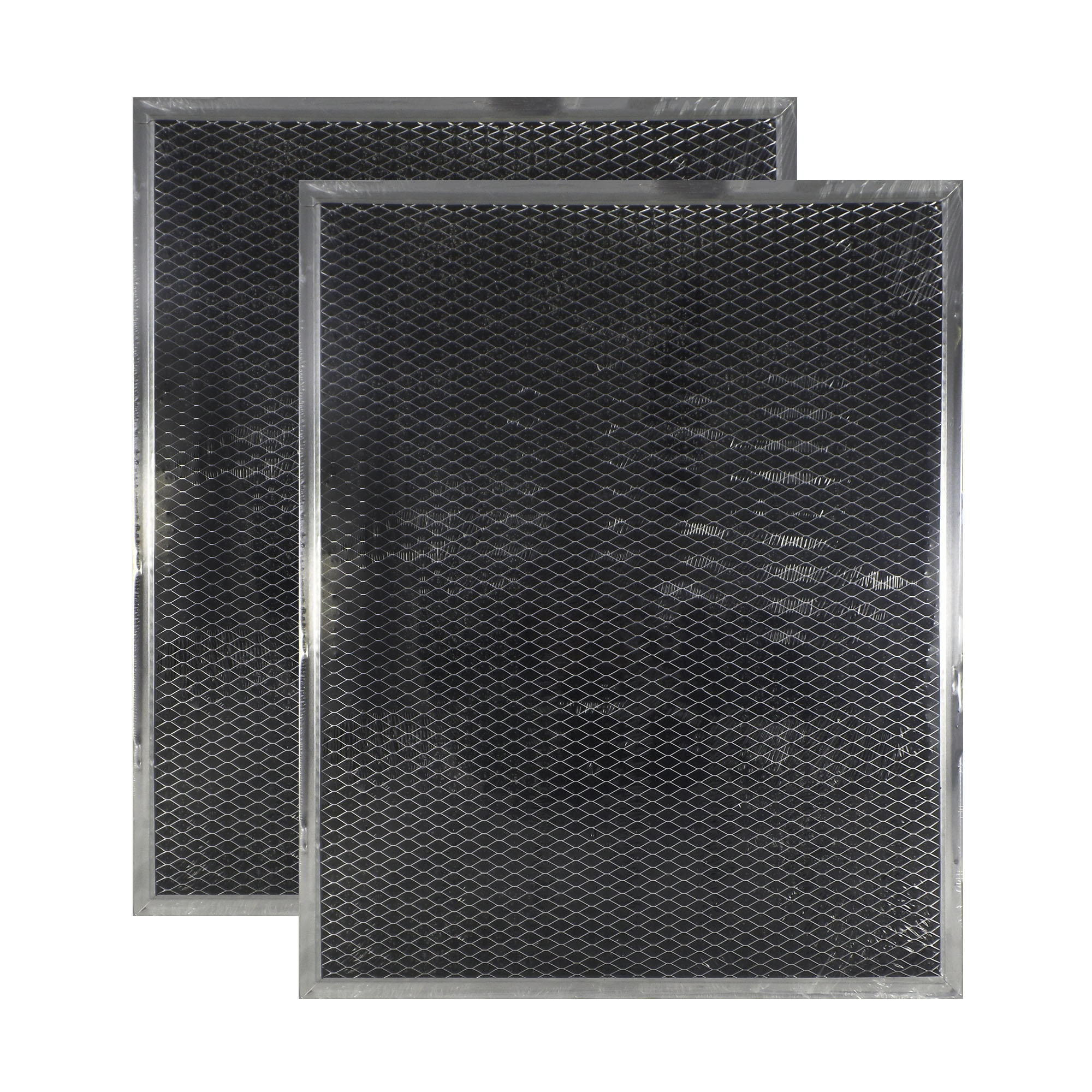2 PACK 874027 GE Range Hood Charcoal Carbon Filter Replacements by Air Filter...