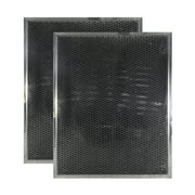 2 PACK BPSF30 99010308 QS WS Broan Range Hood Charcoal Carbon Filter Replacem...