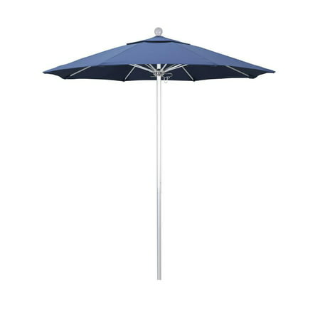 California Umbrella Venture Series Patio Market Umbrella in Olefin with Aluminum Pole Fiberglass Ribs