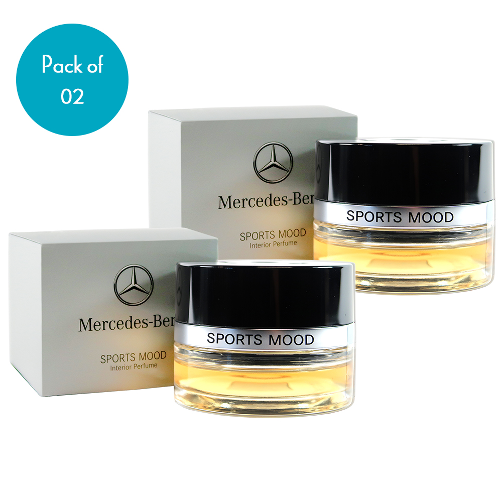 2 Pack Mercedes Genuine Sports Mood Car Air Freshener Interior Cabin Atomizer Fragrances For Mercedes C E Glc Gle Cls S Class Suitable For Cars Equipped Air Balance Package P21