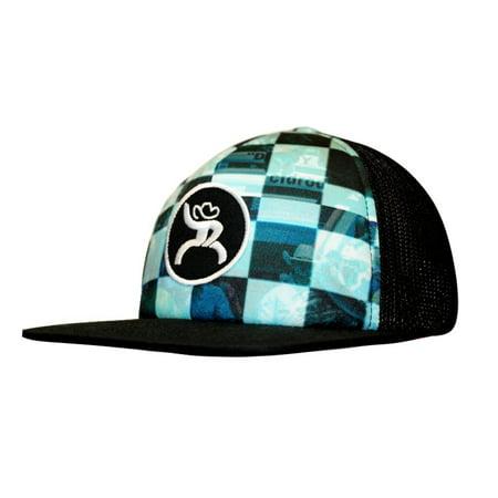 buy online 13a7d b6a5a HOOey Hat Mens Truck Cap Roughy Mesh Back One Size Black 4332T-BKBL ...