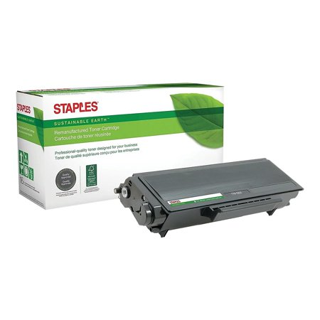 Staples Remanufactured Laser Toner Cartridge Brother TN550 (TN-550) Black 791290