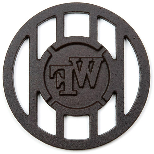 NCAA Grill Topper Hamburger Iron, University of Wake Forest Demon Deacons