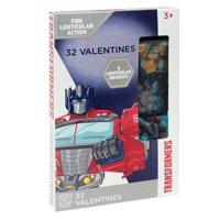 32ct Transformers Lenticular Valentine Cards