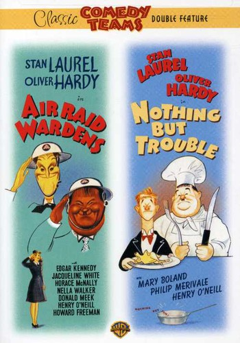 Air Raid Wardens   Nothing but Trouble by WARNER HOME VIDEO