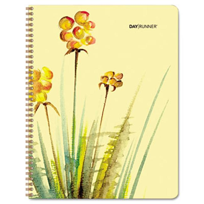 Day Runner 791-905G Watercolors Weekly/Monthly Planner