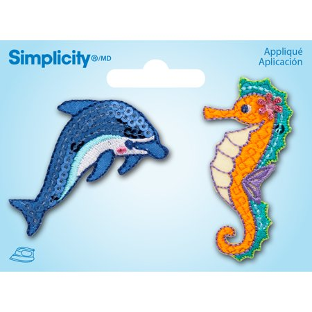 Dolphins Nfl Applique (Simplicity Dolphin & Seahorse Applique, 1)
