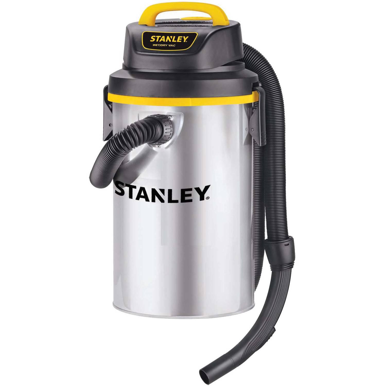 Stanley 3.5-Gallon Hangup  Vacuum, Shop Vacuum, Stainless Steel