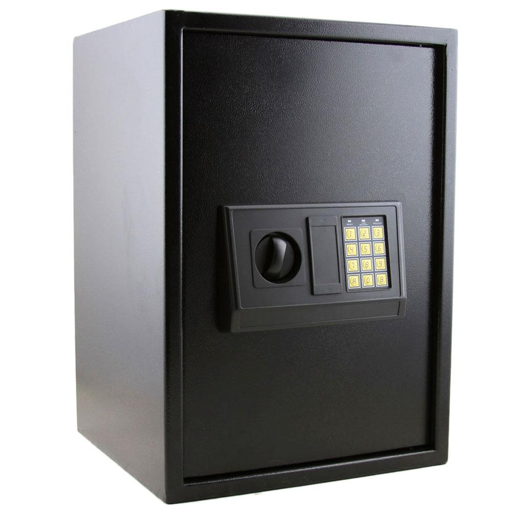 Ktaxon Large Digital Electronic Safe Box Keypad Lockbox Home Office Security Black by
