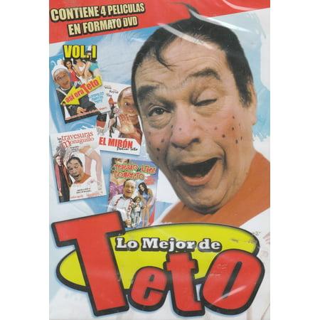 Lo Mejor De Teto 4 Peliculas for $<!---->