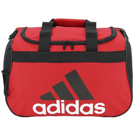 adidas Diablo Small Duffle Bag (SCARLET BLACK WHITE) - Walmart.com 9cda1114f202e