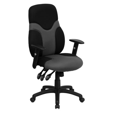 ergonomic mesh office desk chair with adjustable arms walmart com