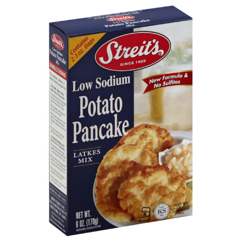 Streit's Potato Pancake Mix Low Sodium, 6.0 OZ