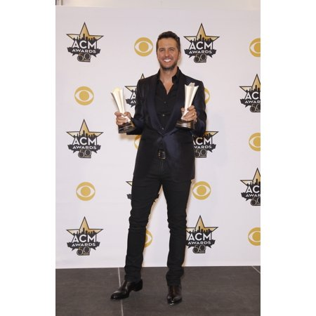 Luke Bryan In The Press Room For 50Th Academy Of Country Music Awards 2015 - Press Room Arlington Convention Center Arlington Tx April 19 2015 Photo By MoraEverett Collection Celebrity - Academy Awards Theme