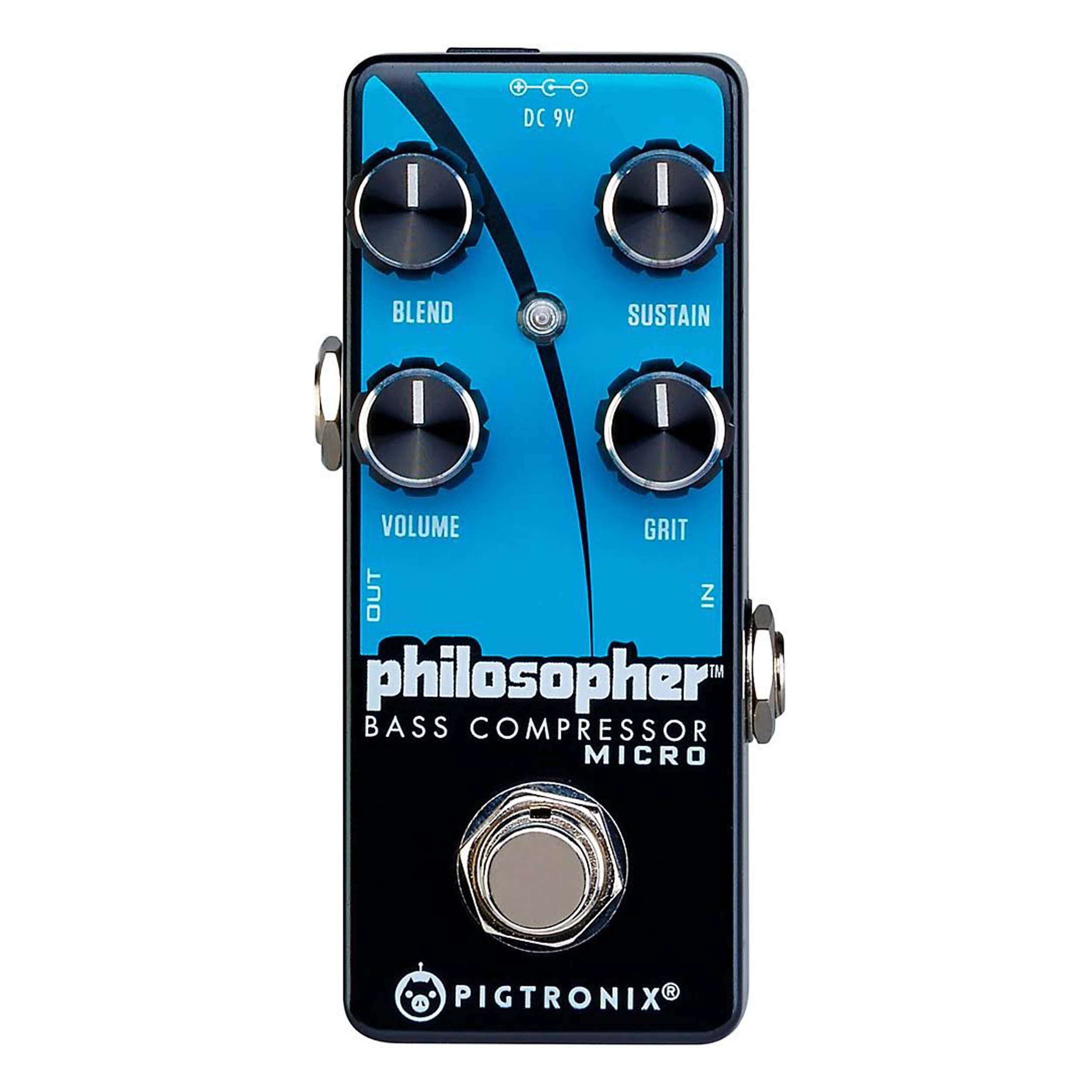 Pigtronix Philosopher Bass Compressor Micro Effects Pedal by Pigtronix