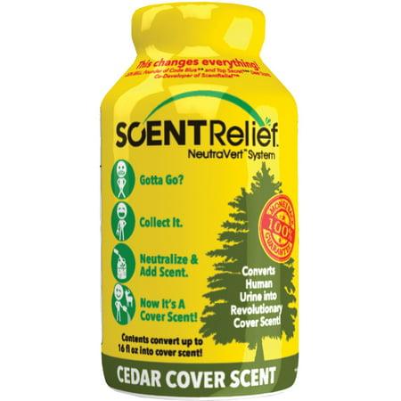 Scent Relief Cover Scent Cedar SR3005