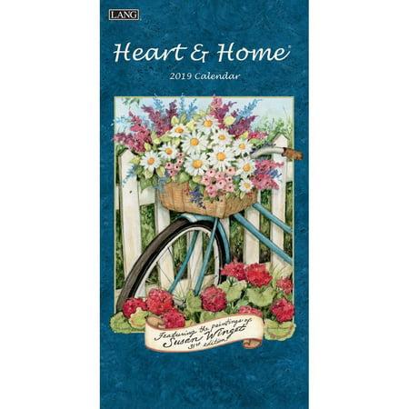 - 2019 VERTICAL WALL CALENDAR, HEART & HOME®
