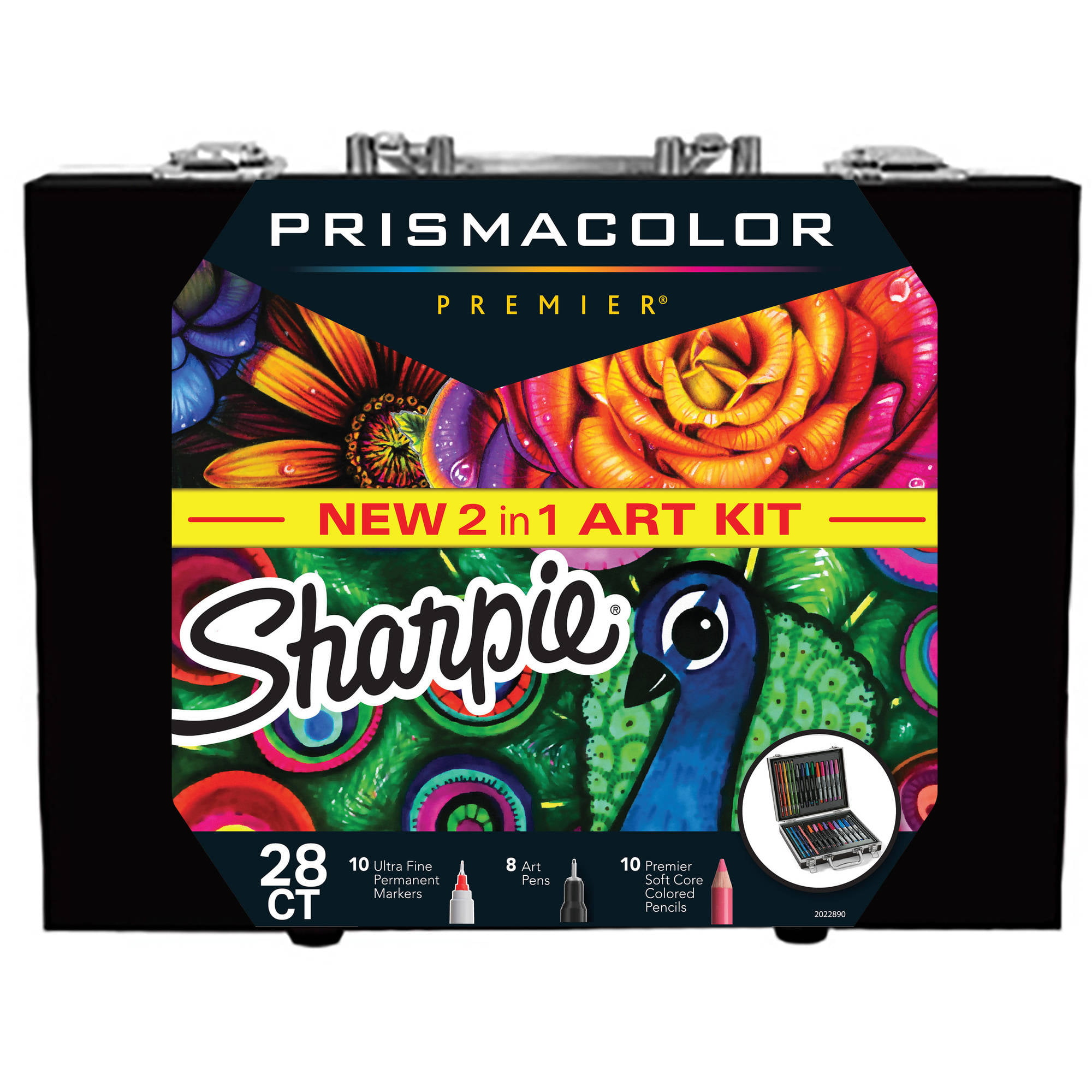 Sharpie and Prismacolor Coloring Kit with Permanent Markers, Art ...