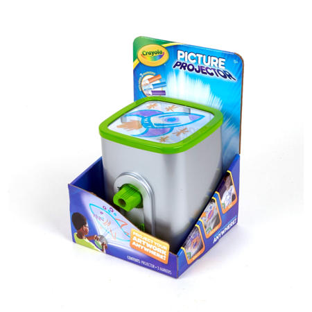 Crayola Picture and Night Light Projector, Ages 5+ ()