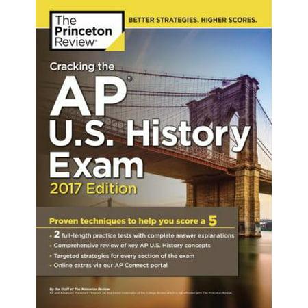 Cracking The Ap U S  History Exam 2017