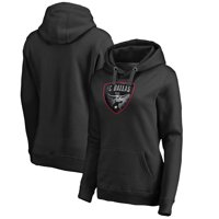 FC Dallas Fanatics Branded Women's Core Smoke Pullover Hoodie - Black