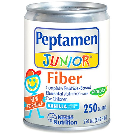 Peptamen Junior Fiber Vanilla 24x250ml