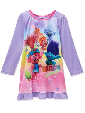 405d957159 Product Image Trolls Poppy Toddler Girls Long Sleeve Nightgown Pajamas  21TP184TDL