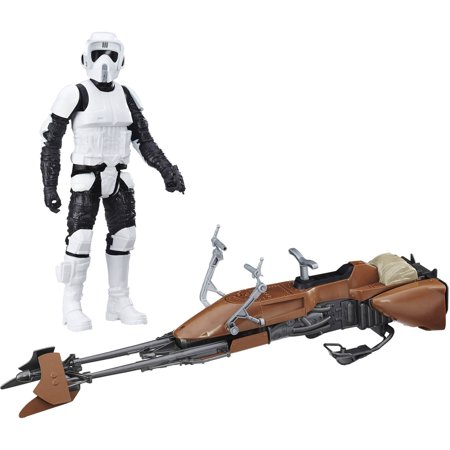 Star Wars: Return of the Jedi Speeder Bike and Biker Scout