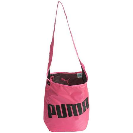 74e3c9a815ab Women s Puma Hannah Reversible Satchel Bag Pink Gym Spin Yoga Fitness Bag -  Walmart.com