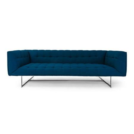 Orren Ellis Shaner Mid Century Modern Chesterfield Sofa Walmart Com