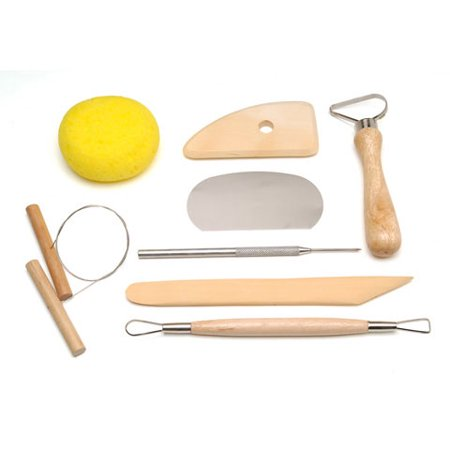 Darice Studio 71 - Pottery Tool Set - 8pcs