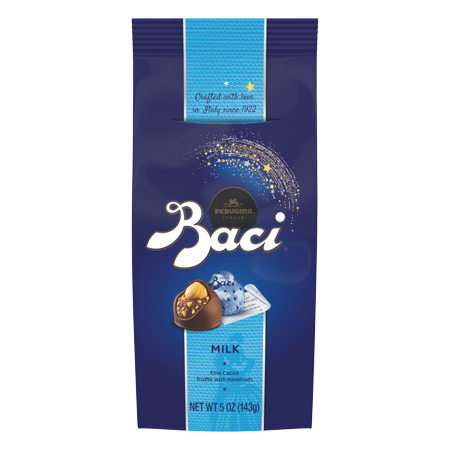 Kisses Truffle - Baci Perugina Original Milk Chocolate Truffle Bag, 5 Ounce (143 g)